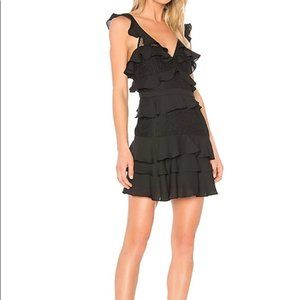 - Bardot Babylon Ruffle Lace Minidress